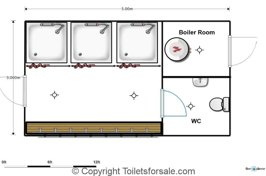 Portable changing room toilets shower units toiletsforsale for Floor plans you can modify