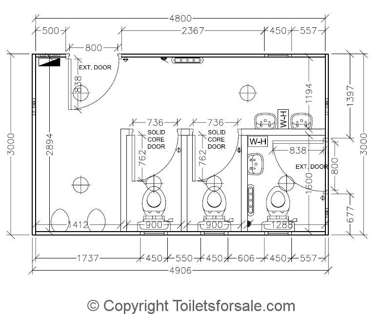 Portable Toilet Blocks For Sale