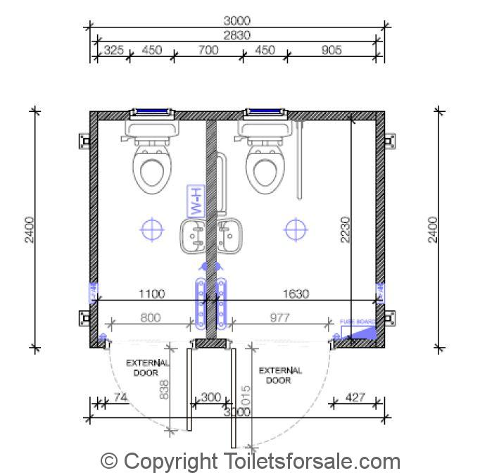 Portable toilet blocks for sale House plans for disabled people