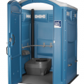 Accessible portable toilet