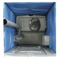 birdview of the Mondo Recirculating Chemical Toilet showing the Urinal