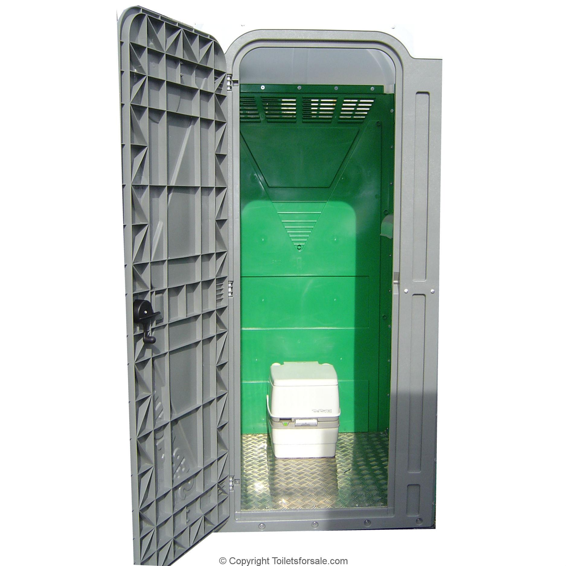 Self Servicing Portable Toilet