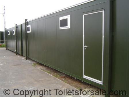 North Weald Mobile Toilet Units