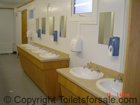 North Weald Mobile Toilet Sinks