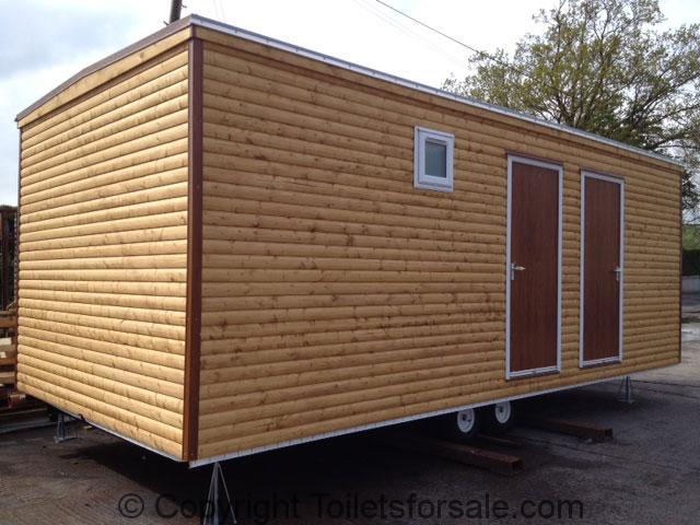 Mobile Toilet and Shower Cabin Ideal for Campsites