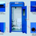 steel portable toilet Spec