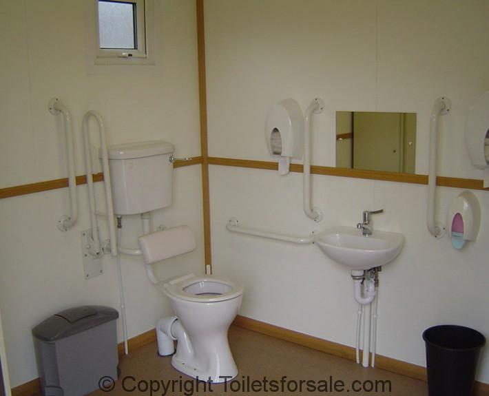 disabled mobile toilet faclilities