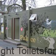 Mobile Toilet Block in London